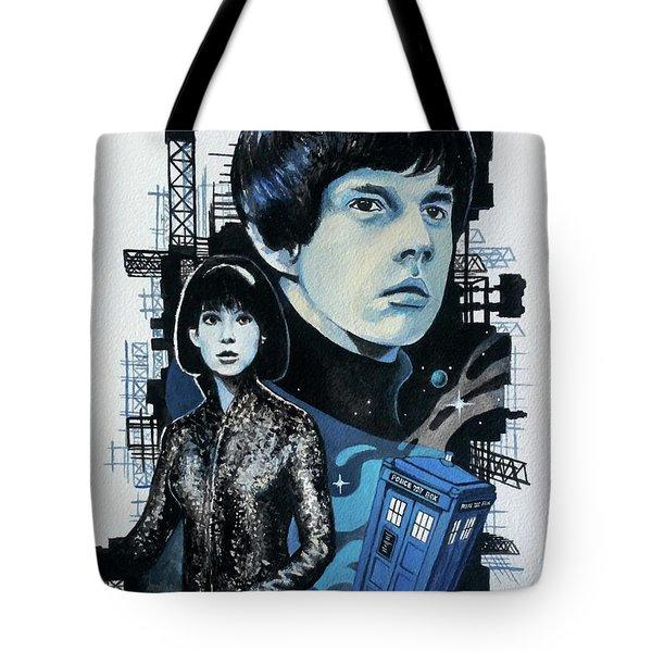 Jamie And Zoe Tote Bag by Tom Carlton