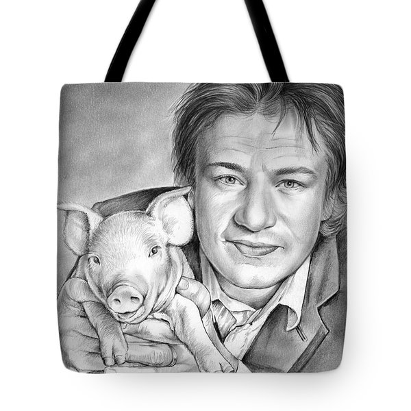 Jamie Oliver Tote Bag