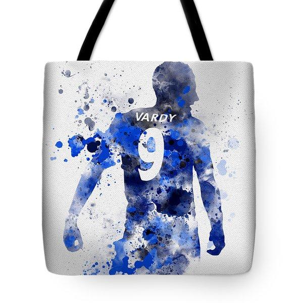 Jamie Vardy Tote Bag