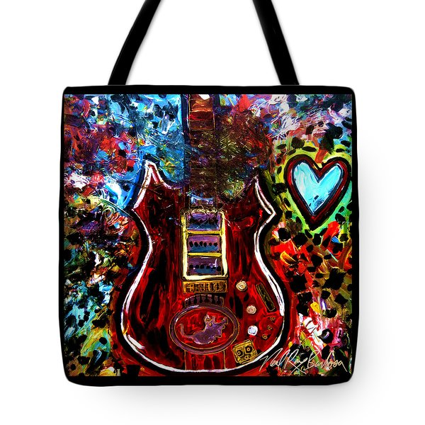 Jaming With Garcia Tote Bag