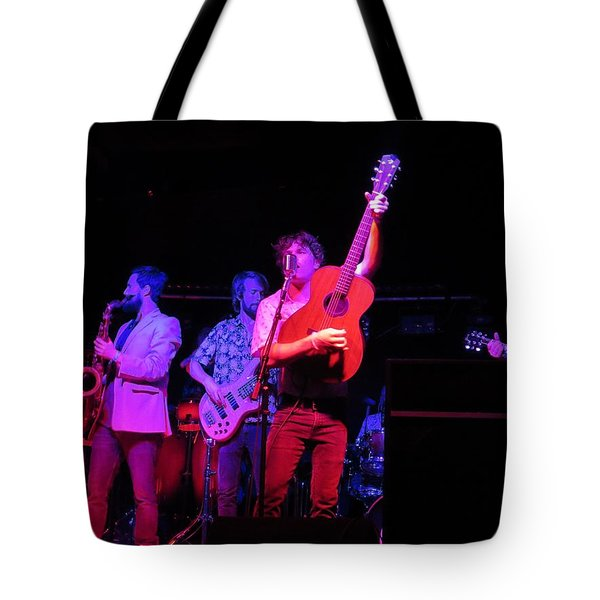 Tote Bag featuring the photograph Jammin by Aaron Martens