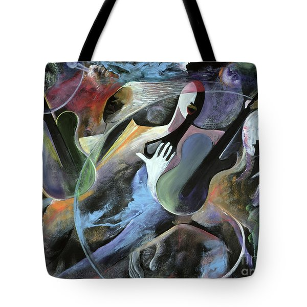 Jammin Tote Bag by Ikahl Beckford