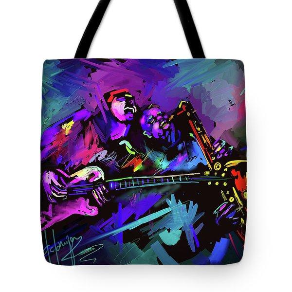 Jammin' The Funk Tote Bag
