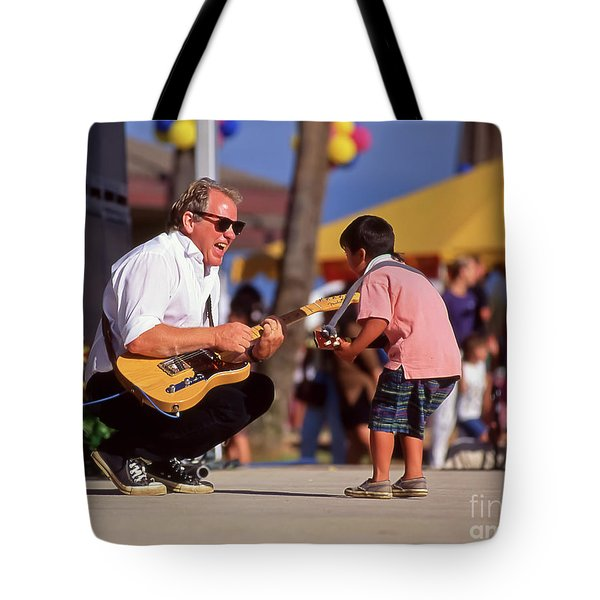 Jamming With Jimmy Tote Bag