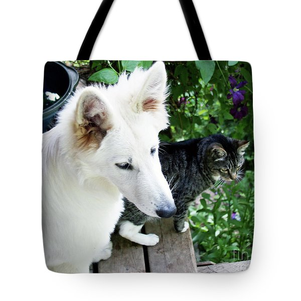 Jane And Katie Tote Bag