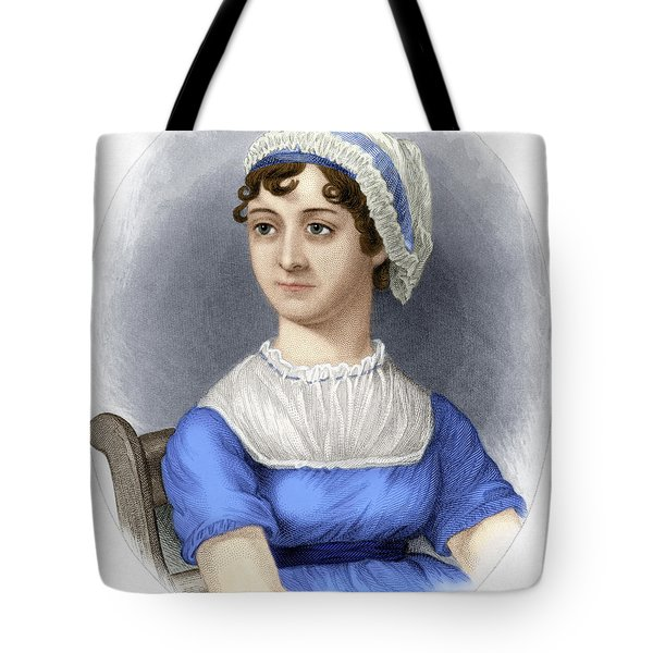 Tote Bag featuring the photograph Jane Austen by Granger