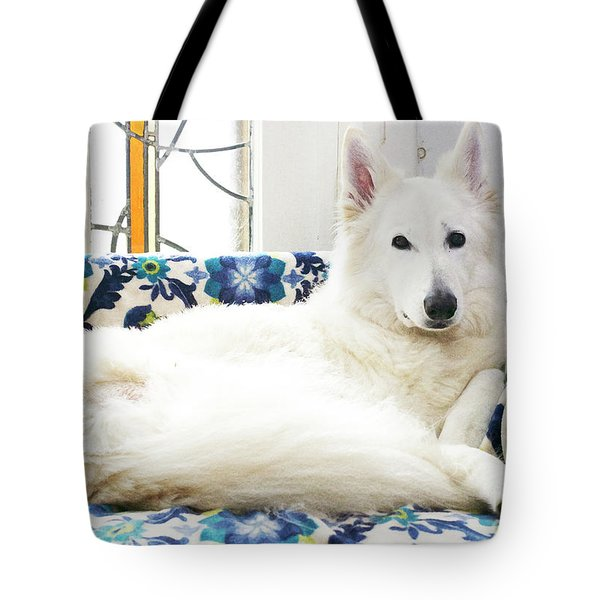 Jane In Her Favorite Spot Tote Bag
