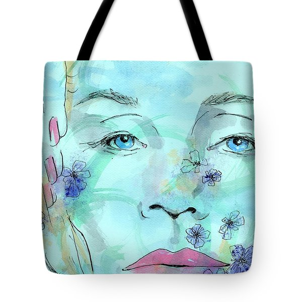 Jane In Spring Tote Bag