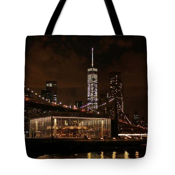 Jane's Carousel  Tote Bag