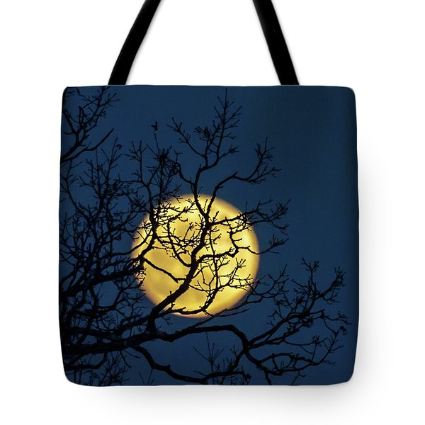 Janet's Moon Tote Bag