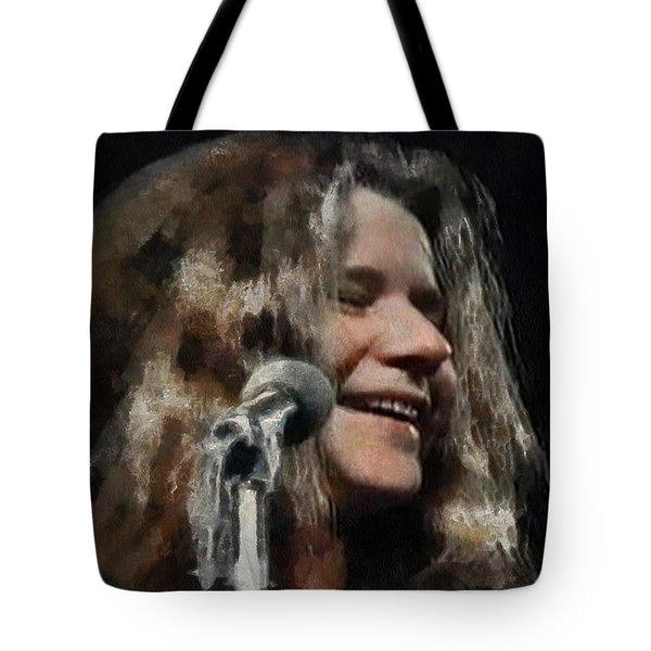 Janis Tote Bag by Sergey Lukashin