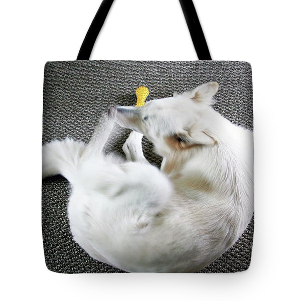 Janie Is A Painey Tote Bag