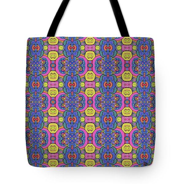 Tote Bag featuring the painting Janis Would Have Liked This by Lisa Weedn