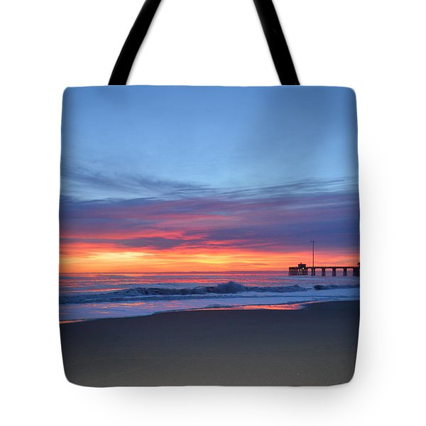 Tote Bag featuring the photograph January 8, 2018 by Barbara Ann Bell