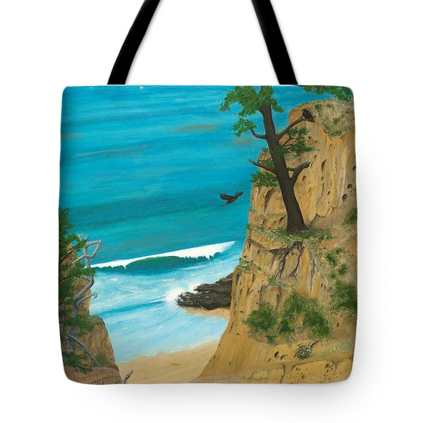 January At Torrey Pines Tote Bag