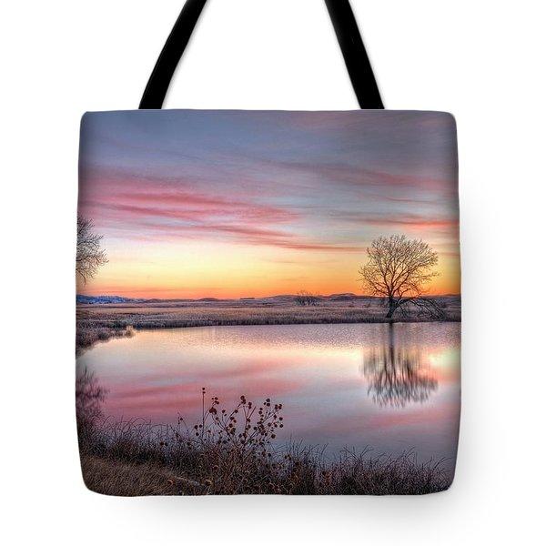 January Dawn Tote Bag