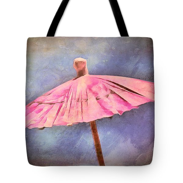 January Drizzle Tote Bag