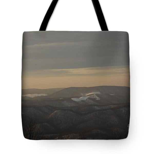 January Evening Tote Bag
