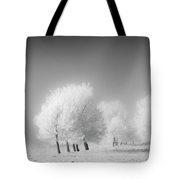 January Frost Tote Bag