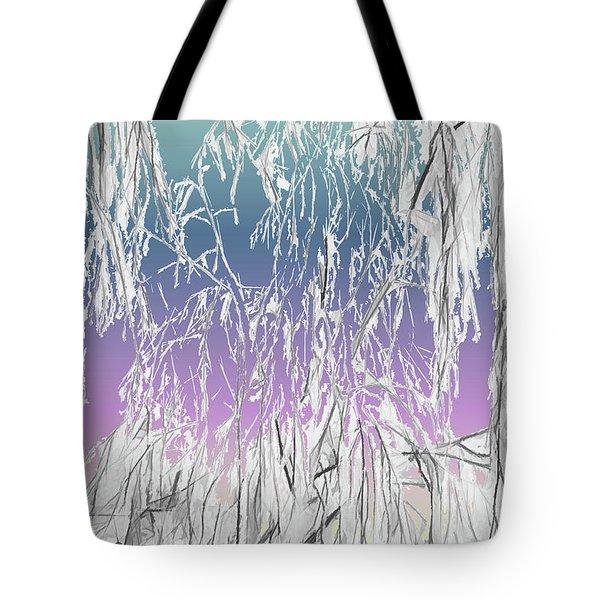 January Hoarfrost Tote Bag