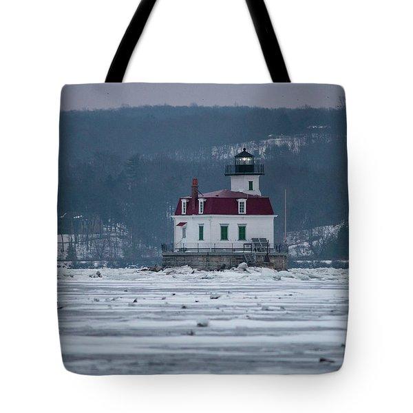 January Morning At Esopus Light Tote Bag
