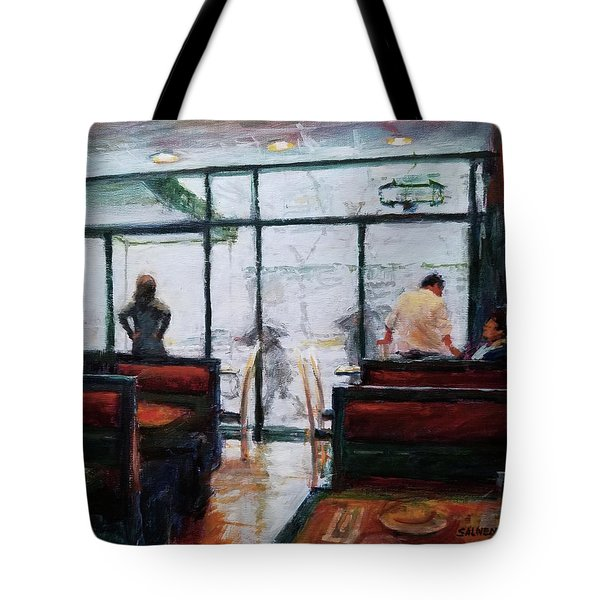 January, Morning Break Tote Bag