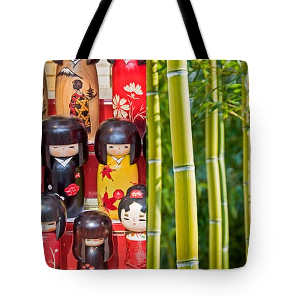 Japan Collage Tote Bag