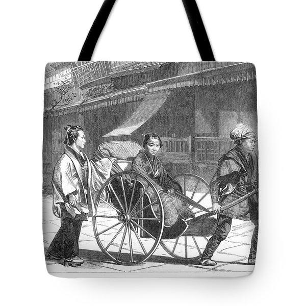 Japan: Rickshaw, 1874 Tote Bag by Granger