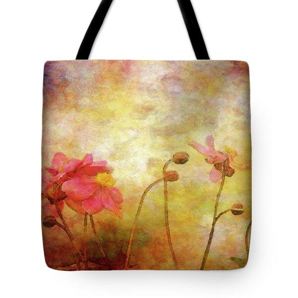 Japanese Anemone Landscape 3959 Idp_2 Tote Bag