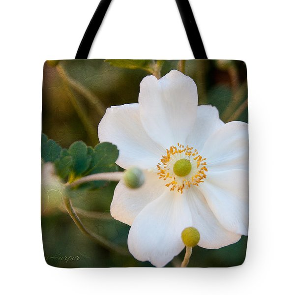 Japanese Anemone Tote Bag