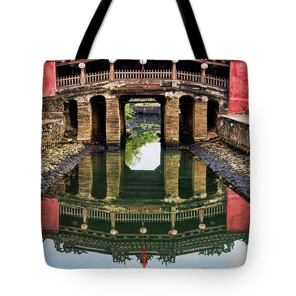 Japanese Bridge  Hoi An Tote Bag