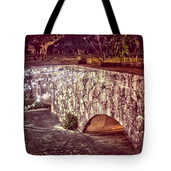 Japanese Bridge Tote Bag