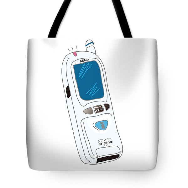 Japanese Classic Phone Tote Bag