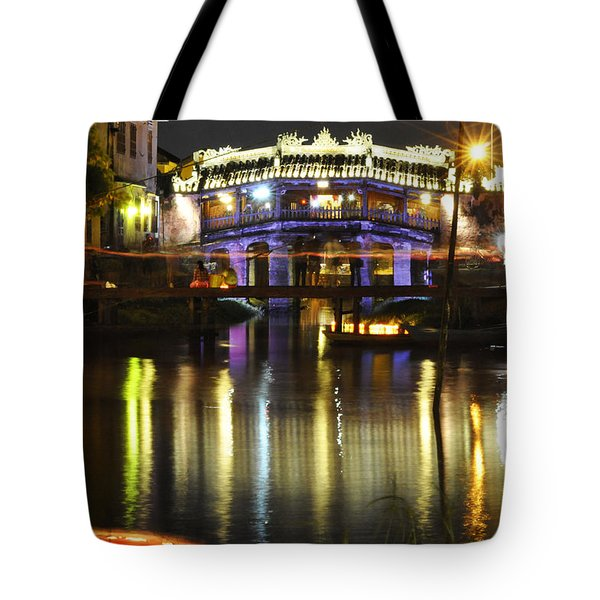Tote Bag featuring the photograph Japanese Covered Bridge by Rob Hemphill