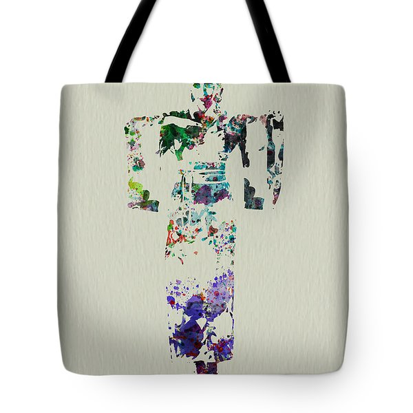Japanese Dance Tote Bag by Naxart Studio