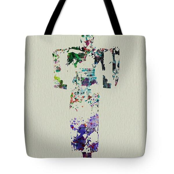 Japanese Dance Tote Bag by Naxart Studio