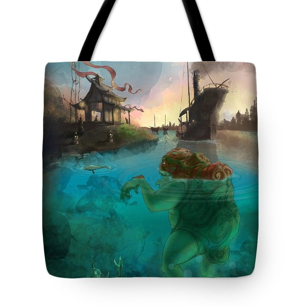 Japanese Fable 2 Tote Bag