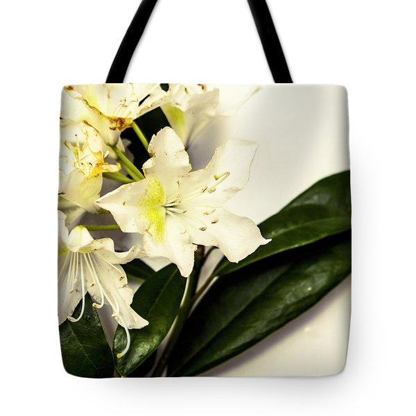 Japanese Flower Art Tote Bag