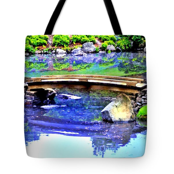 Japanese Garden Tote Bag by Bill Cannon