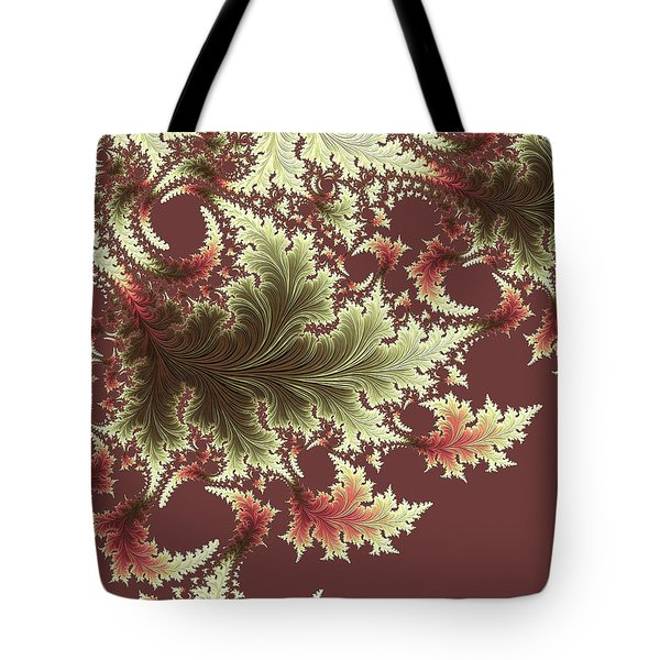 Tote Bag featuring the digital art Japanese Garden I by Susan Maxwell Schmidt