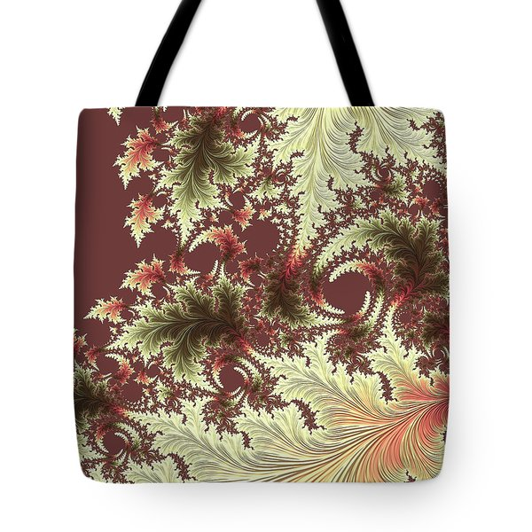 Tote Bag featuring the digital art Japanese Garden Il by Susan Maxwell Schmidt
