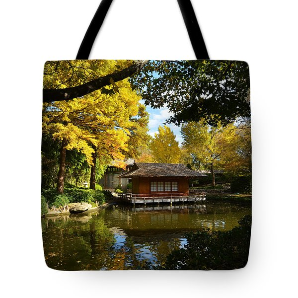 Japanese Gardens 2541a Tote Bag