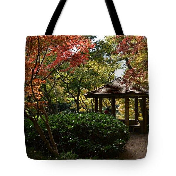 Japanese Gardens 2577 Tote Bag