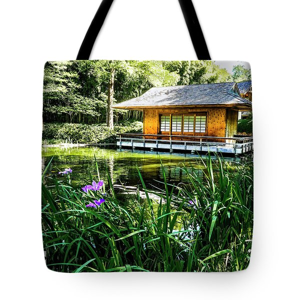 Tote Bag featuring the photograph Japanese Gardens II by Joe Paul