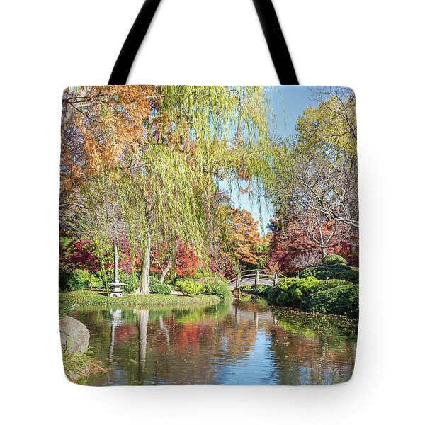 Japanese Gardens Tote Bag