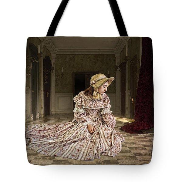 Japanese Girl Tote Bag