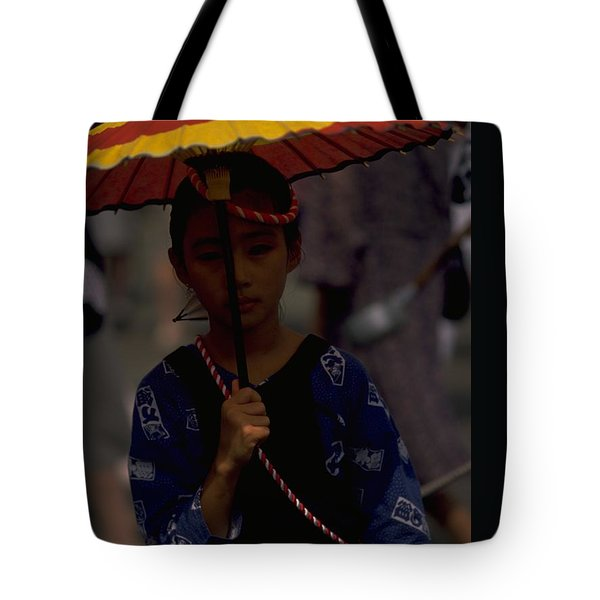 Tote Bag featuring the photograph Japanese Girl by Travel Pics