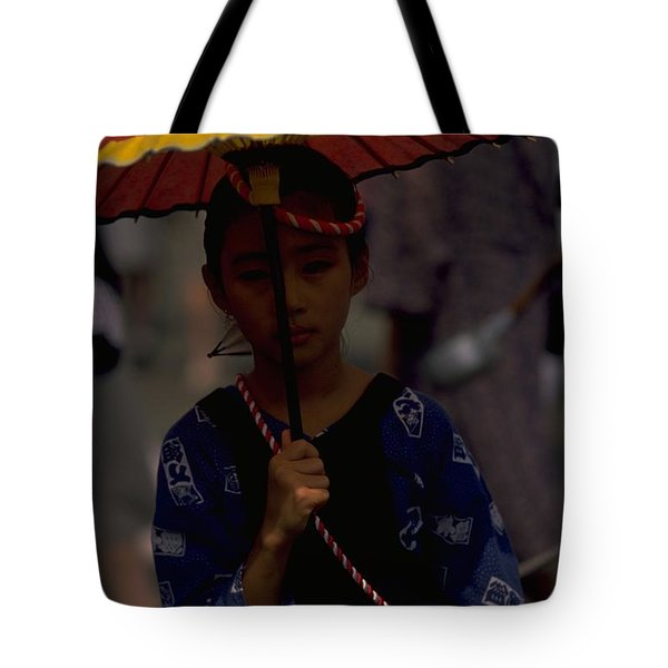 Japanese Girl Tote Bag