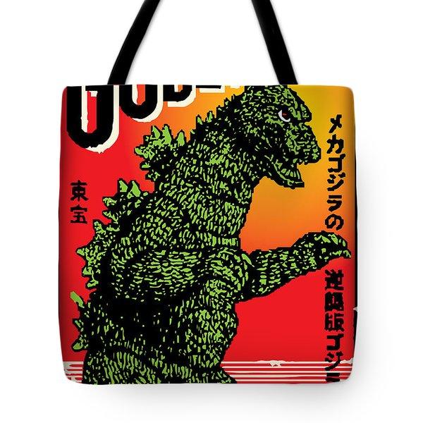 Japanese Godzilla  Tote Bag