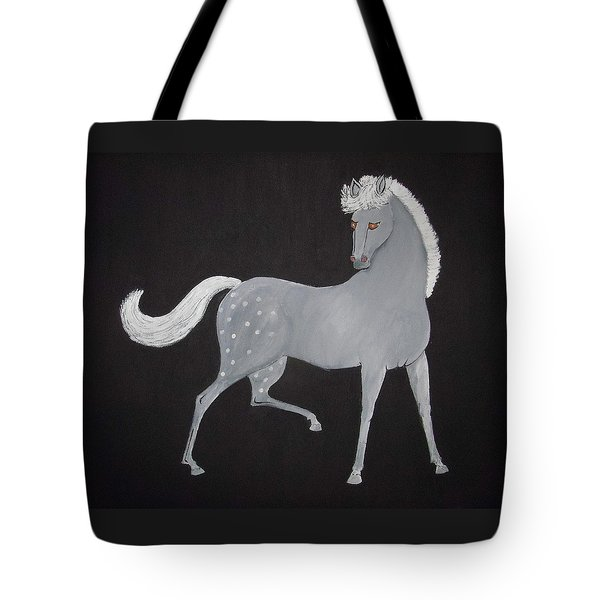 Japanese Horse 2 Tote Bag by Stephanie Moore